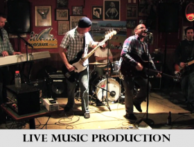 Live Music Video & Audio Production